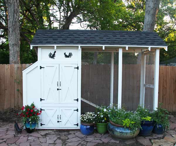 nicely-painted-chicken-coop