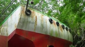 shrimp boat at Alexandria Zoo